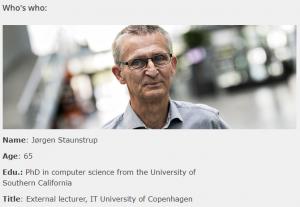 Prodata - Jørgen Staunstrup PhD og lektor