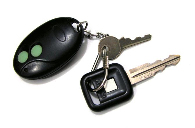 Ekstra, nøgle, til, bil, biloplukning